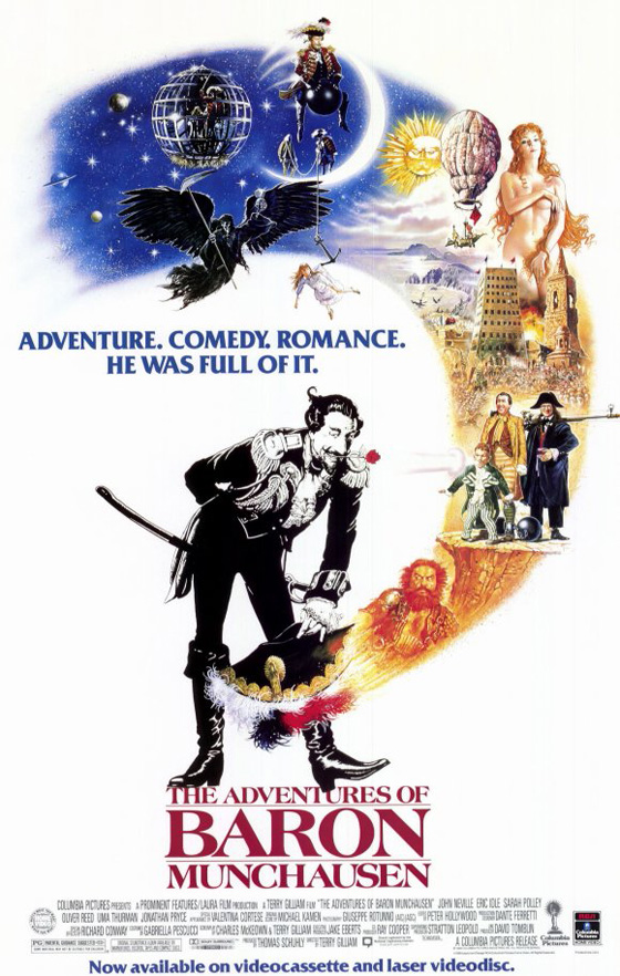 The Adventures of Baron Munchausen (1988) – Midnight Only