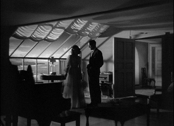 """THE UNINVITED (1944): """"If a spirit comes back, it's for ... 