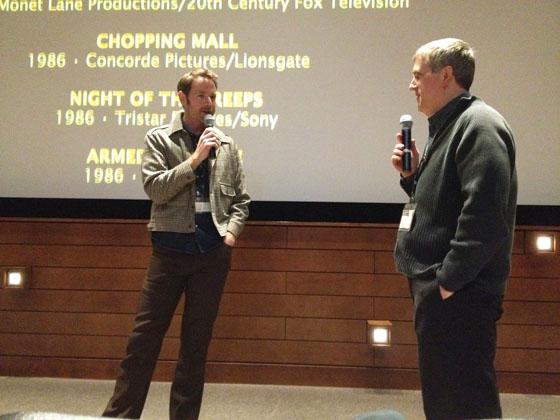 "Director Elijah Drenner talks ""That Guy Dick Miller"" at the 2014 Wisconsin Film Festival with festival director Jim Healy."