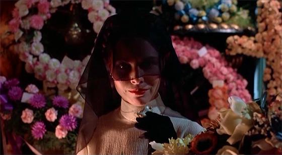 Natasha Rambova at Valentino's funeral.