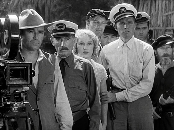 Robert Armstrong, Frank Reicher, Fay Wray, Bruce Cabot, and fellow explorers discover the lost tribe of Skull Island.