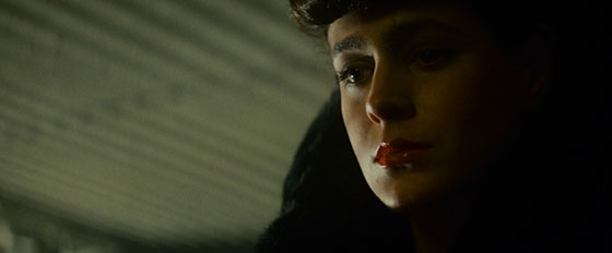Rachel (Sean Young), a Nexus-6 Replicant coming to grips with her identity.