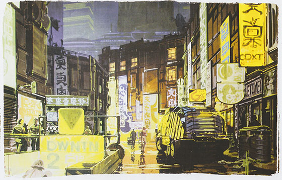 Syd Mead concept art.