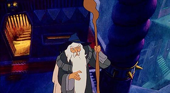 Gandalf consults Saruman the White.