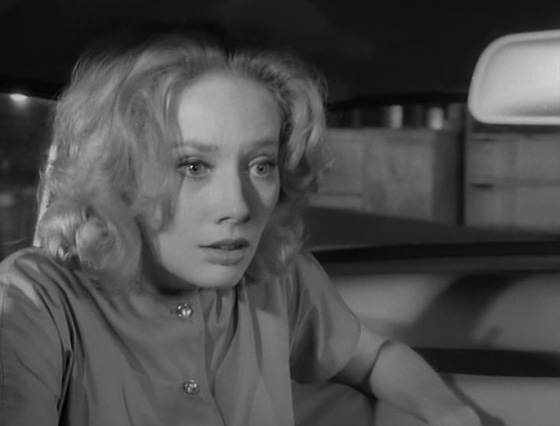 Mary Henry (Candace Hilligoss) contends with strange visions in Salt Lake City.