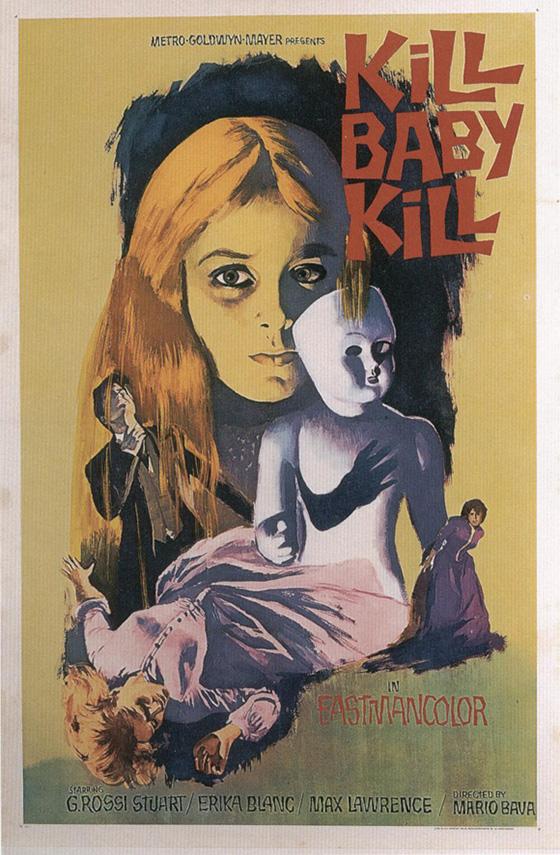 kill baby kill poster