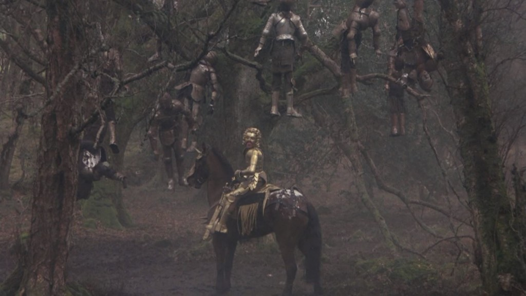 Young Mordred leads Perceval astray on his quest for the Holy Grail.