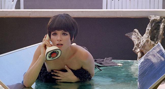 Elsa Martinelli as Marcello's mistress, Olga.