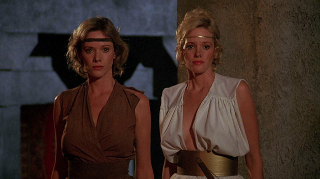 Sorceress (1982 a raunchy 80s fantasy movie featuring naked twin