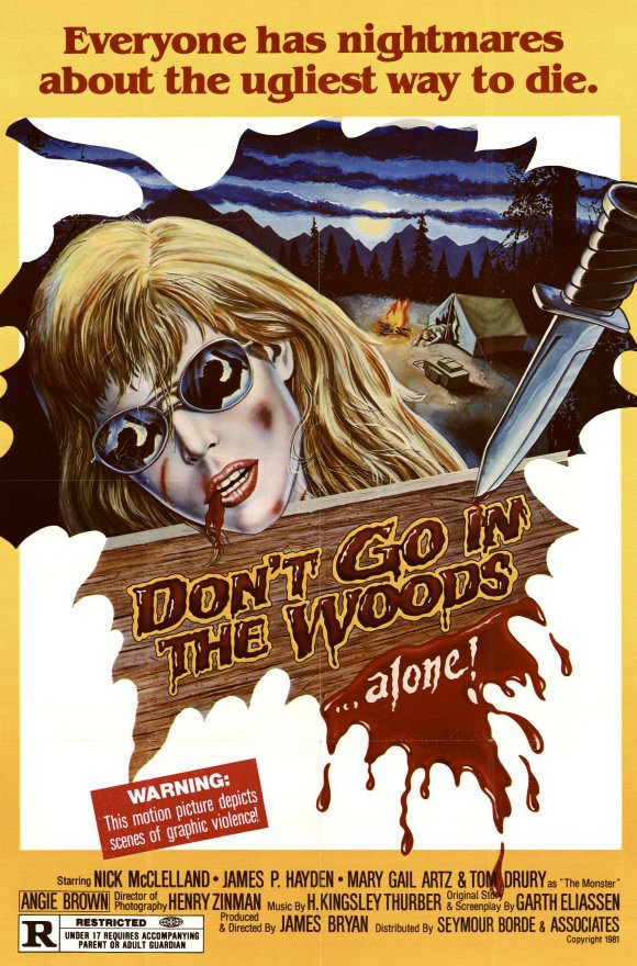 Dont Go in the Woods poster