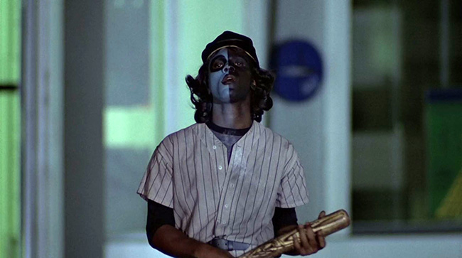 A member of the Baseball Furies.