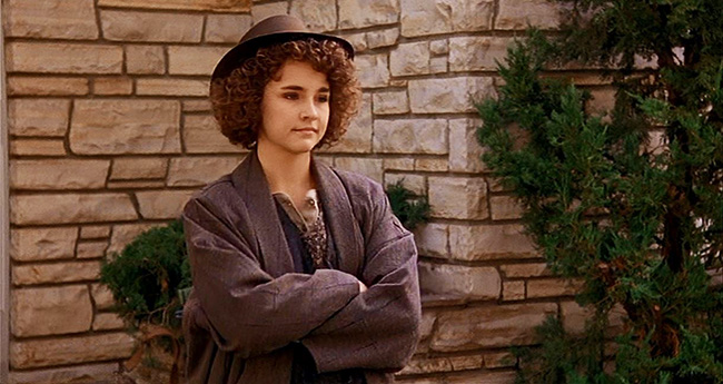 Diane Franklin as the French exchange student Monique.