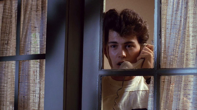 Johnny Depp as the boyfriend, Glen.