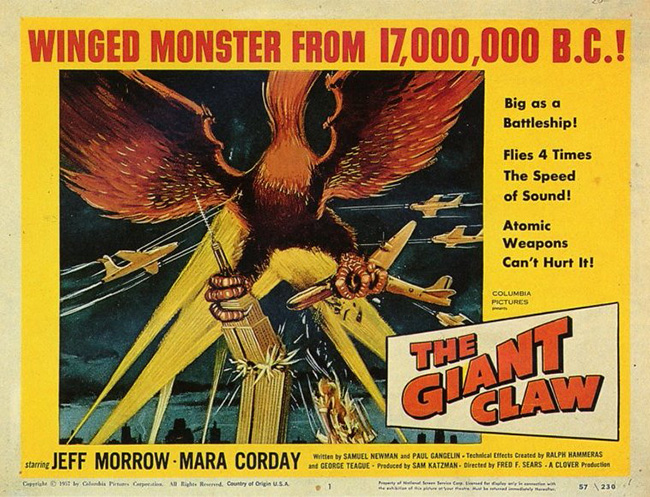Giant Claw poster