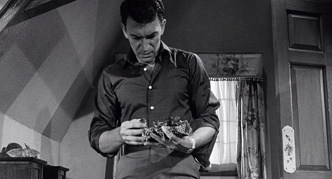 Norman Taylor (Peter Wyngarde) discovers charms and other instruments of witchcraft hidden about his house.