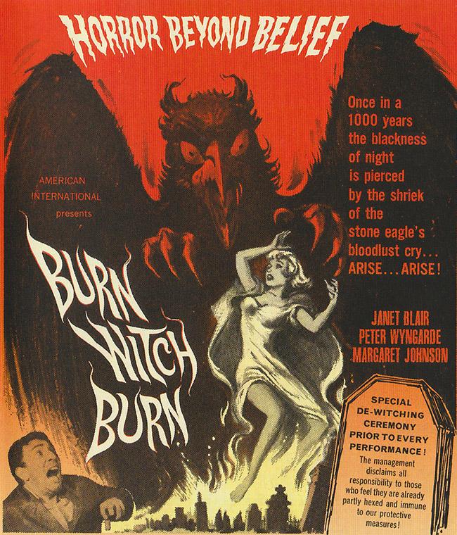 Burn Witch Burn poster