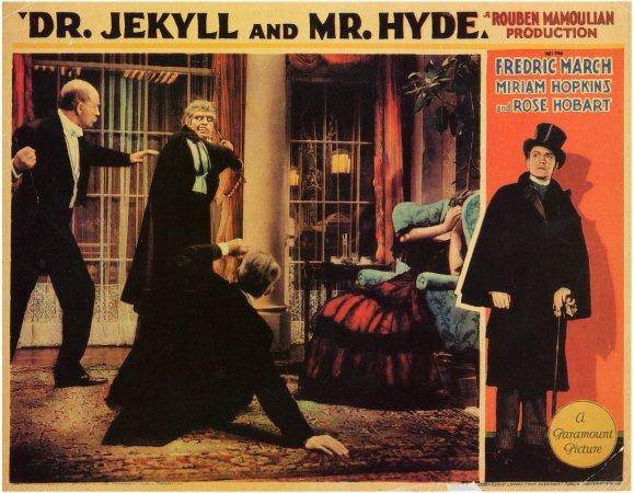 Dr Jekyll lobby card