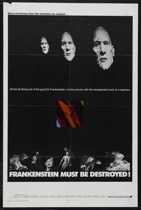 Frankenstein Must Be Destroyed poster