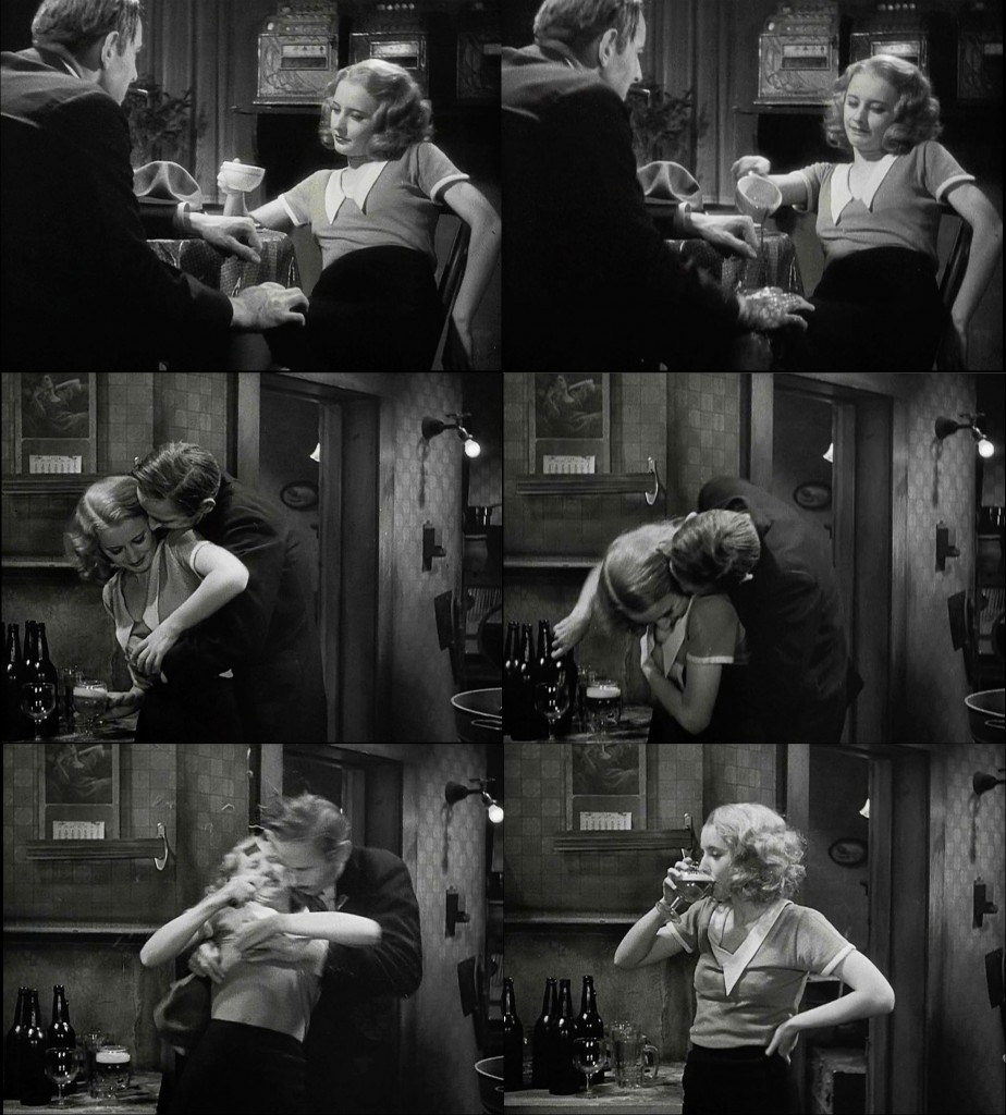Lily Powers (Barbara Stanwyck) demonstrates how best to repel the advances of a sleazy politician.