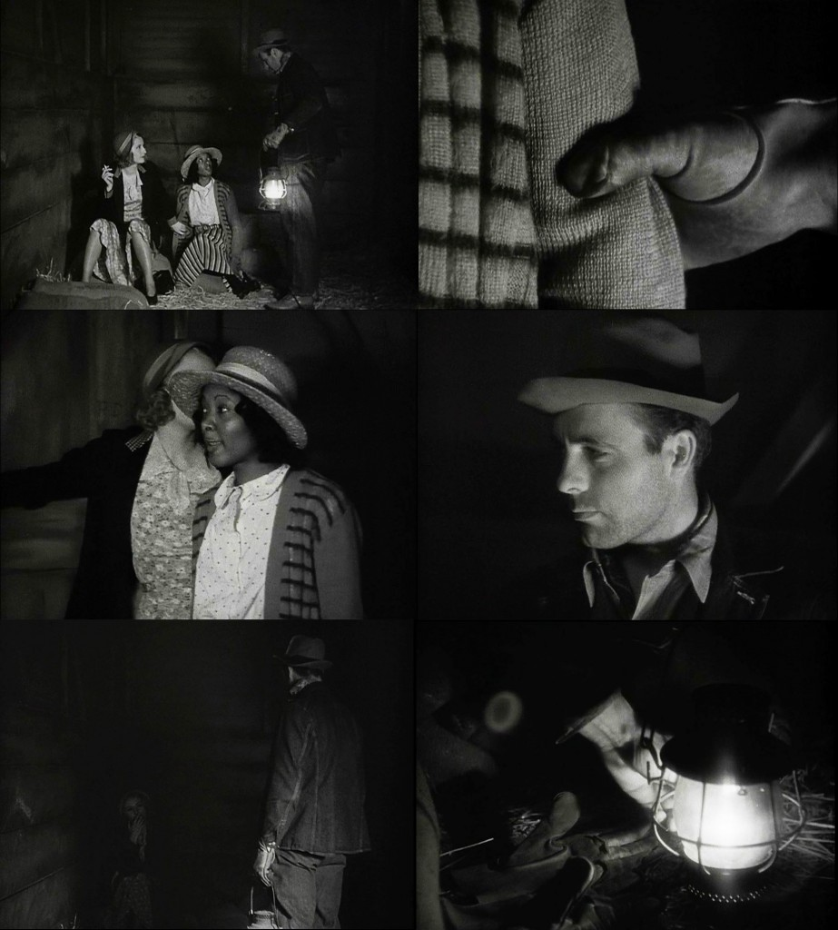 Seduction of a train inspector - one of the blunt scenes that censors demanded be cut from the wider theatrical release.