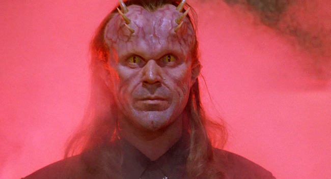 Patrick Bergin as the Devil.