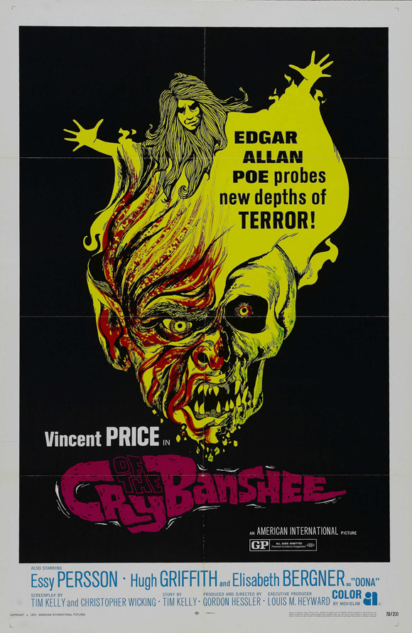 Cry of the Banshee poster