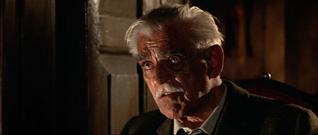Boris Karloff as Nahum Witley.