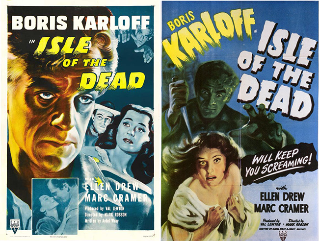 Isle of the Dead posters