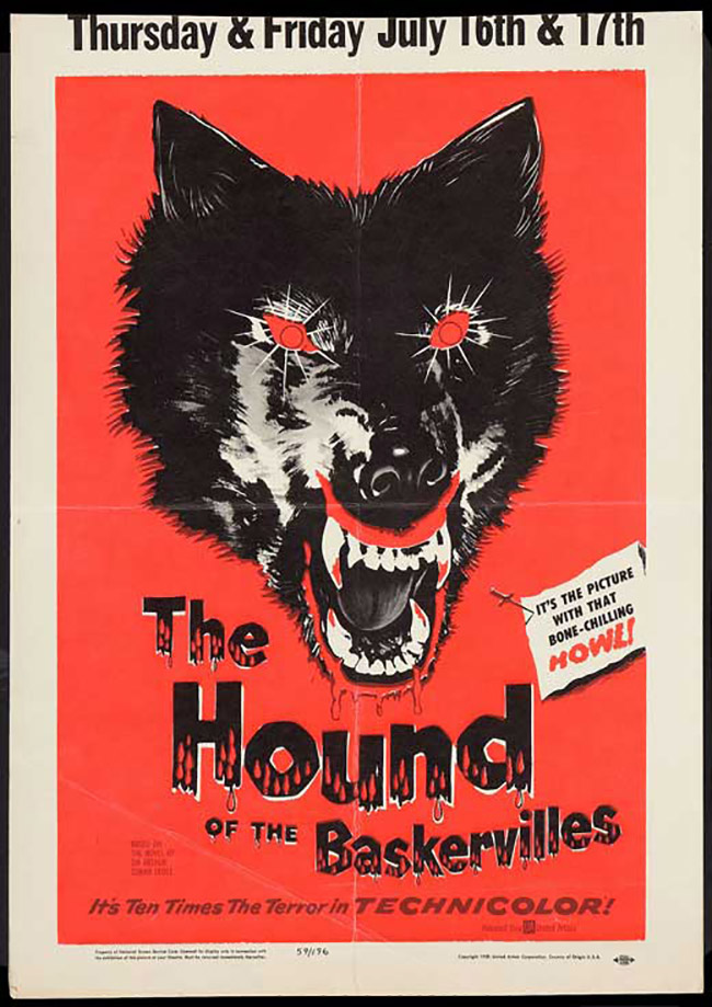 Hound of the Baskervilles poster