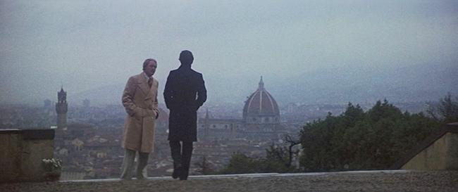 Robert Lasalle (John Lithgow) and Michael Courtland (Cliff Robertson).