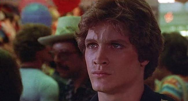 Robin (Andrew Stevens) unleashes deadly destruction at an amusement park.