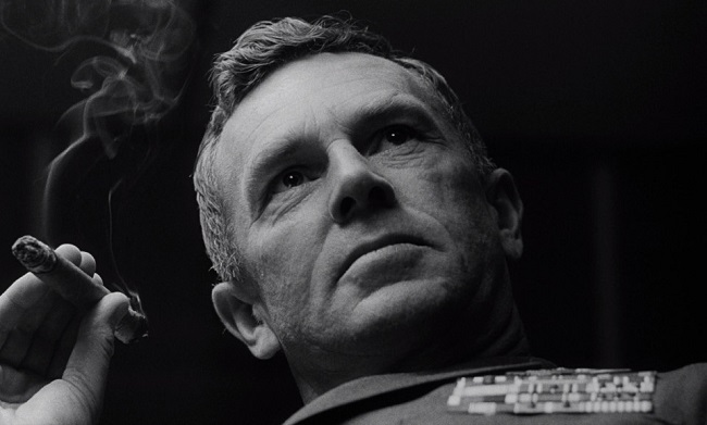 Sterling Hayden as Brig. Gen. Jack D. Ripper.