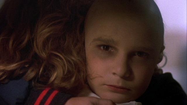 Corey Feldman's evil gaze as Tommy Jarvis.
