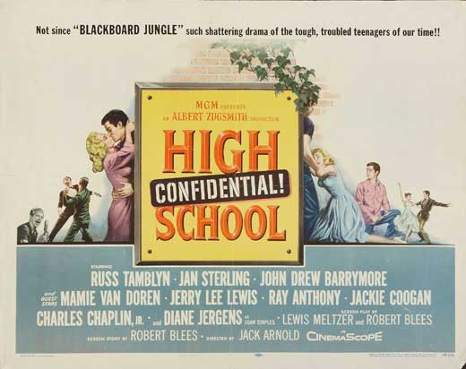 High School Confidential poster 2