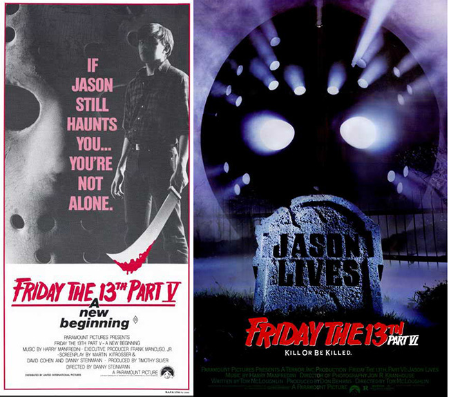 Friday the 13th Part V and VI