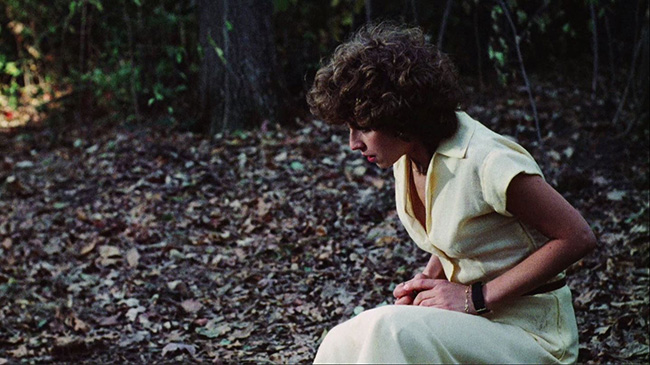 Babysitter Sandy (Jeannie Elias) discovers The Pit.