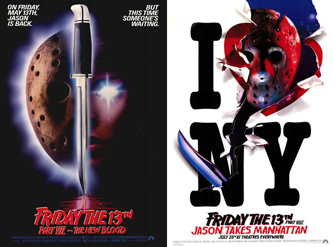 Friday the 13th Parts VII and VIII