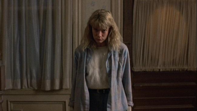 Telekinetic Tina (Lar Park-Lincoln) confronts Jason.