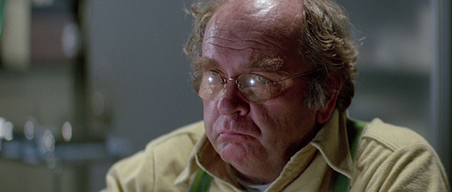 Wilford Brimley as Dr. Blair, the first to discover the Thing's nature.