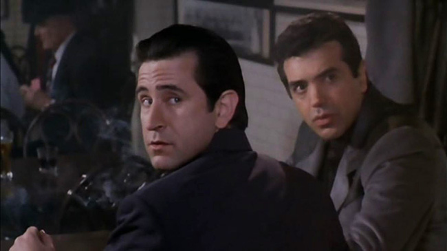Anthony LaPaglia and Chazz Palminteri.