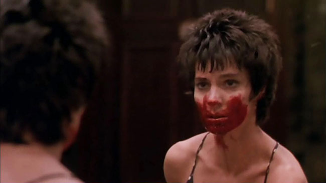 Anne Parillaud as the gangster-hunting vampire Marie.