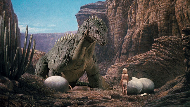 Caveman And Dinosaurs : When dinosaurs ruled the earth u midnight only